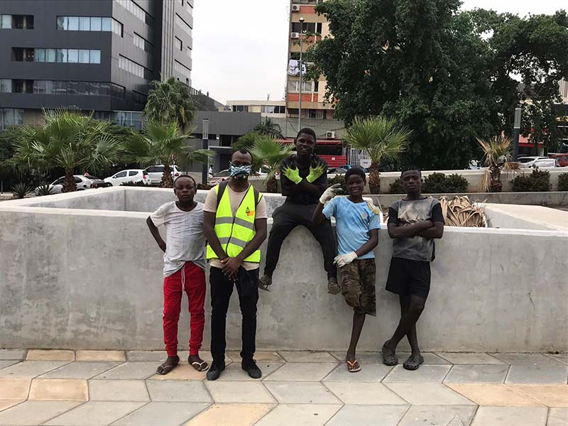 Open Your Heart Foundation Cleaning Event In Angola June 2020 (1)