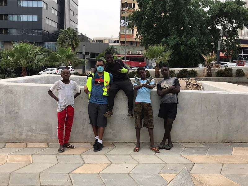 Open Your Heart Foundation Cleaning Event In Angola June 2020 (2)