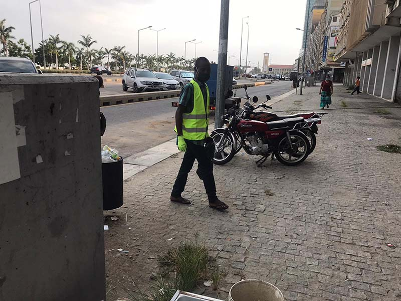 Open Your Heart Foundation Cleaning Event In Angola June 2020 (3)