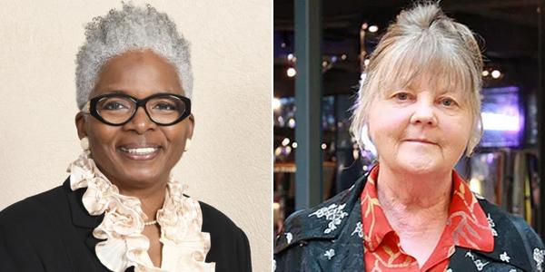 RoseAnn Edwards and Liz Greenwell Bermuda June 2020