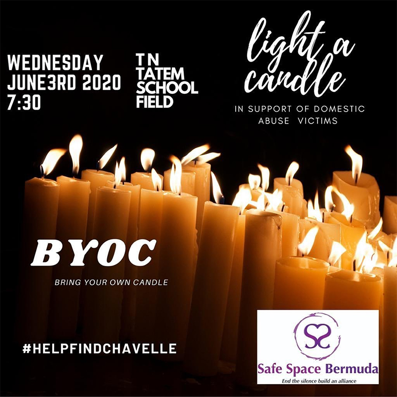 Safe Space Bermuda Candlelight Vigil June 2020
