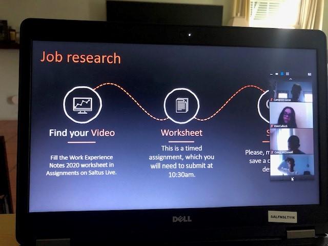 Saltus Virtual Work Experience  Bermuda June 2020