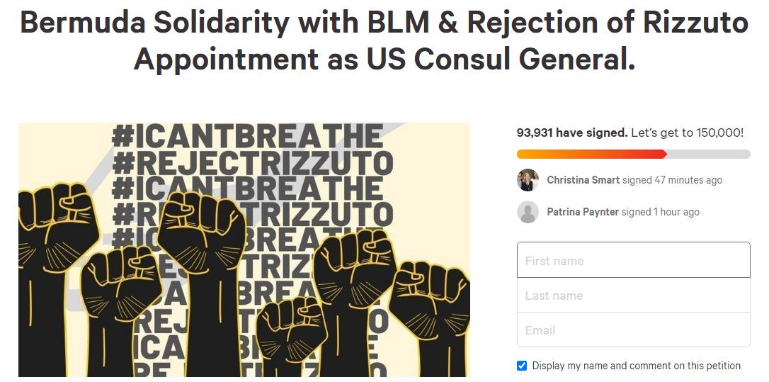 Screenshot petition june 10 2020