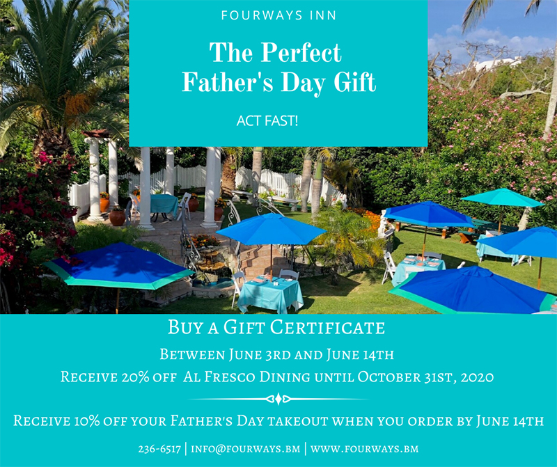 Sea Breeze Father's Day Bermuda June 2020