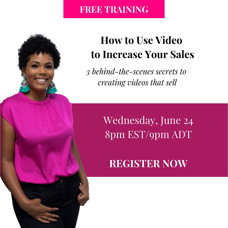 Video Marketing Training Bermuda June 2020