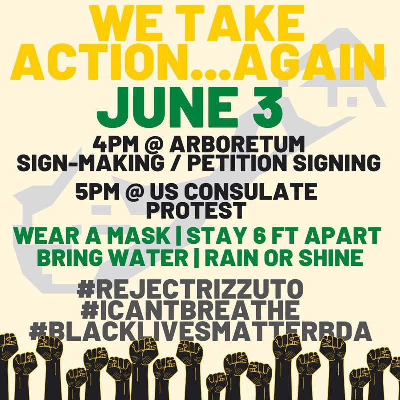 We Take Action Again Bermuda June 2020