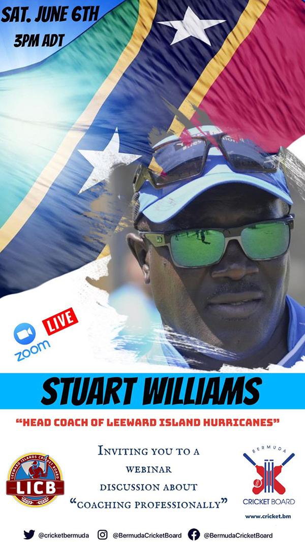 Zoom Webinar With Stuart Williams Bermuda June 2020