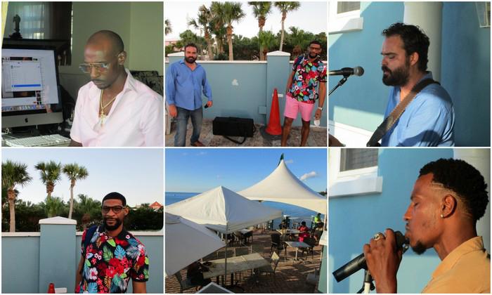 """Flame's Restaurant Musical Treat"" Bermuda July 2020"