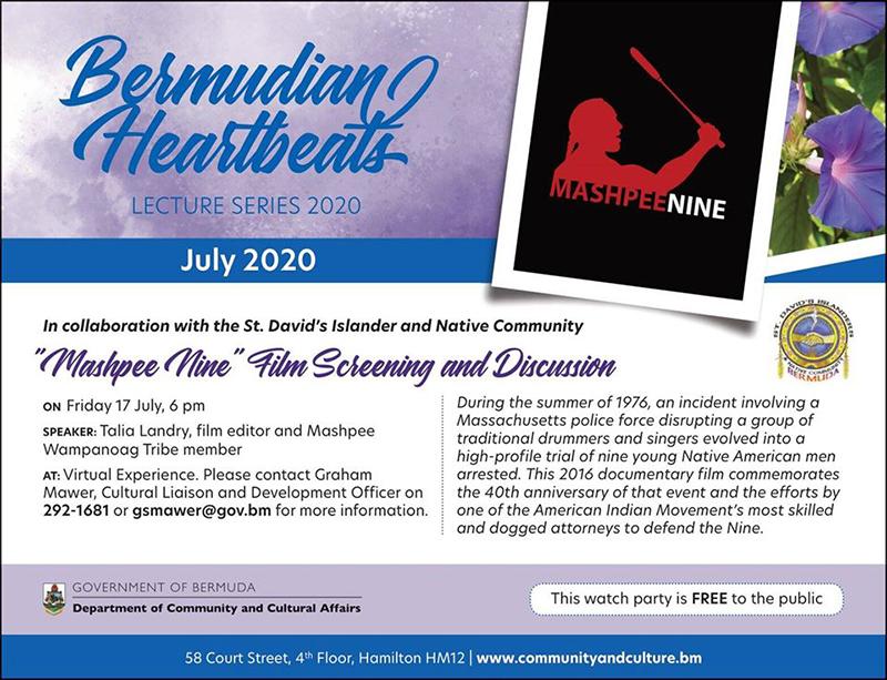"""Mashpee Nine"" Film Bermuda July 2020"
