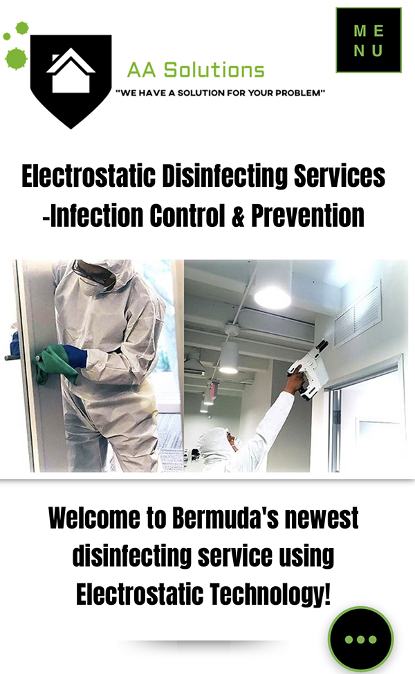 AA Solutions Disinfecting Services Bermuda July 2020
