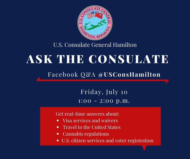 Ask the Consulate Bermuda July 2020
