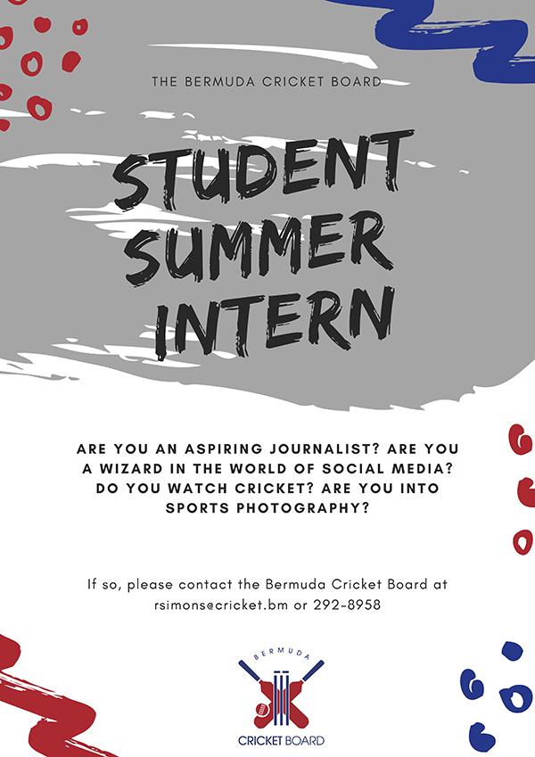 BCB Student Summer Intern Bermuda July 2020