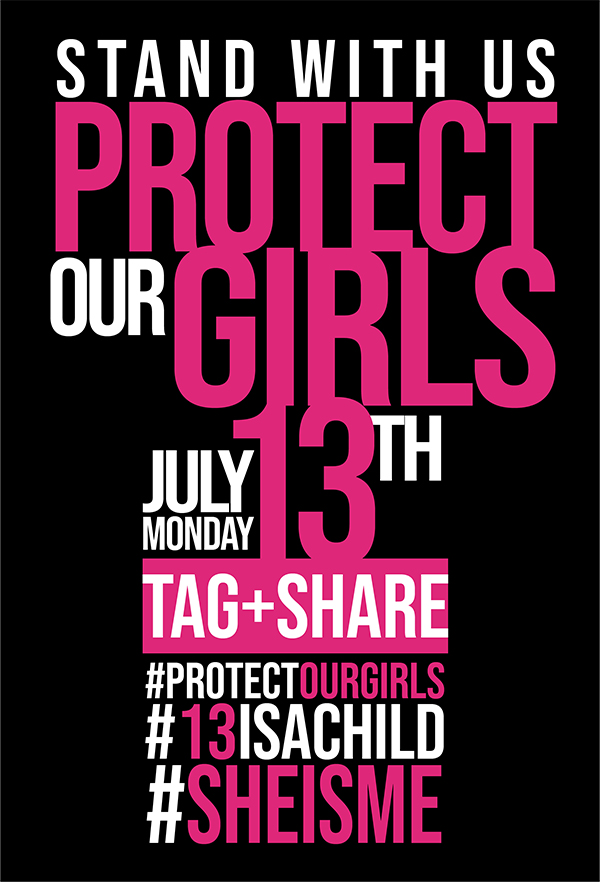 CPC #ProtectOurGirls Campaign Bermuda July 2020