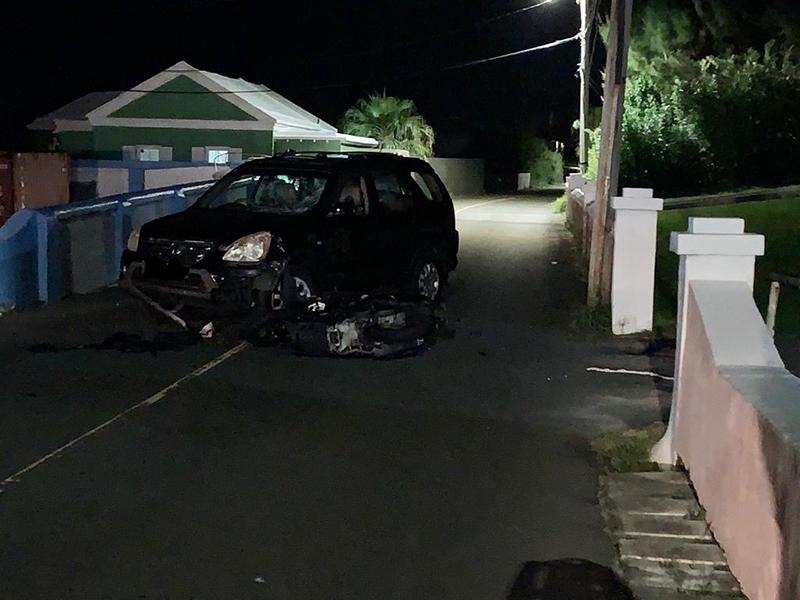 Collision Bermuda July 27 2020