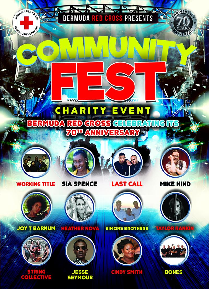 Community Fest Bermuda July 14 2020 Performers