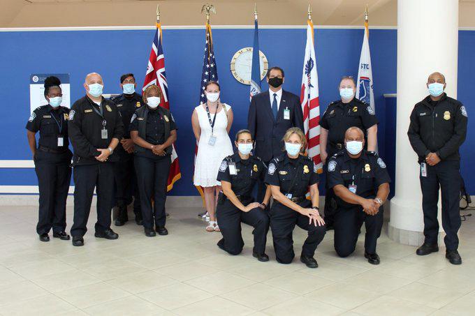 Consul General Rizzuto & CBP Bermuda July 2020