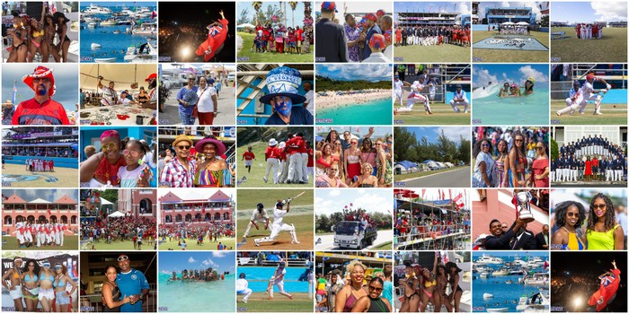 Cup Match Photos Bermuda July 2020 TWFB