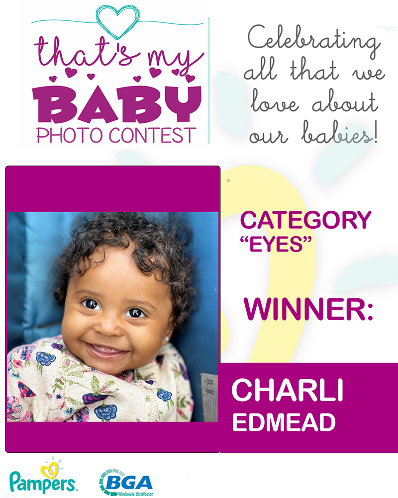 Edmead That's My Baby Photo Contest Bermuda July 2020