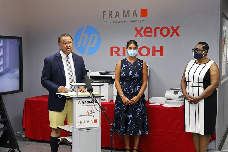 Frama Franking Machines Launch Bermuda July 2020 (1)
