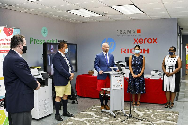 Frama Franking Machines Launch Bermuda July 2020 (2)
