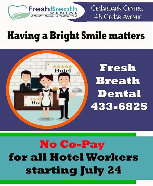 Fresh Breath Dental Bermuda July 2020