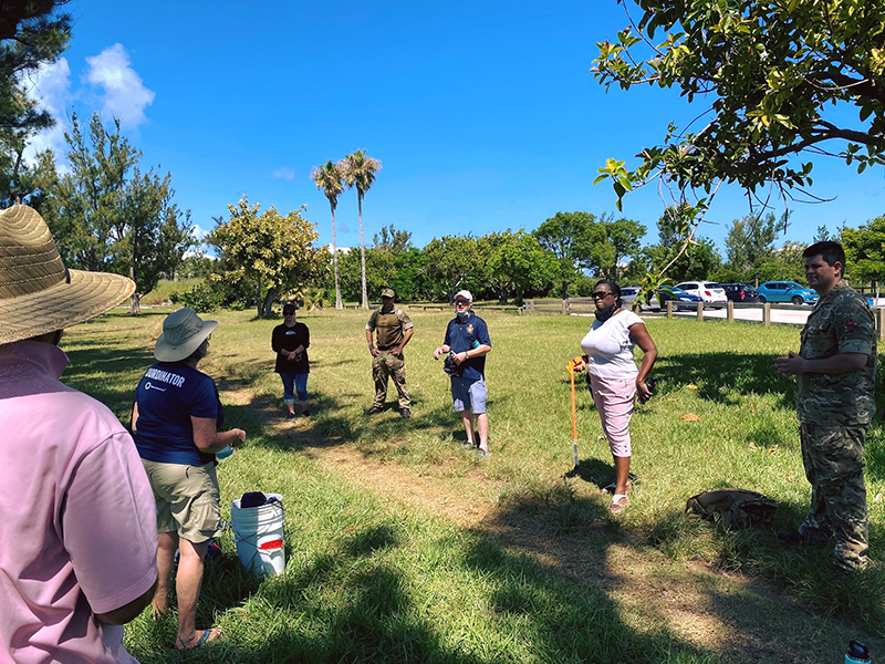 Government House Beach Cleanup Bermuda July 2020 (2)
