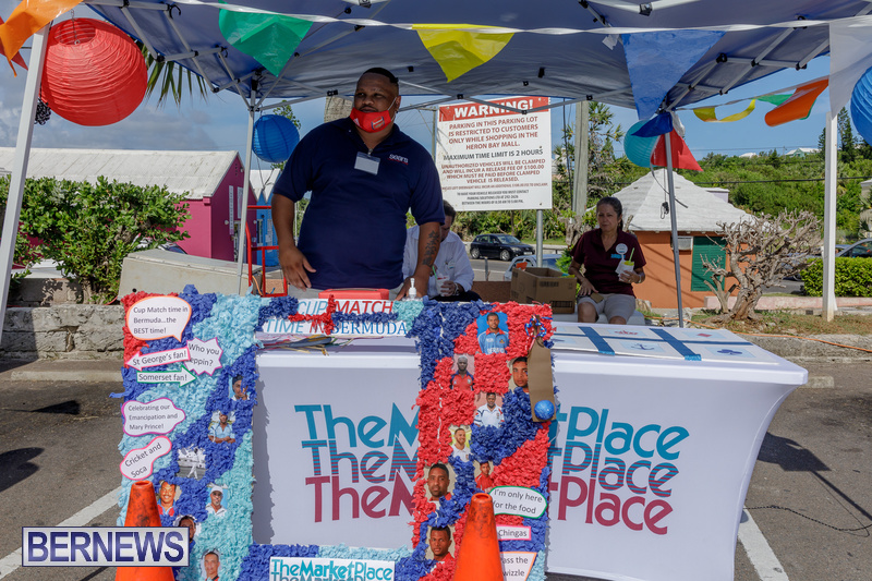 Heron Bay Marketplace Cup Match Road Show Bermuda July 2020 (2)