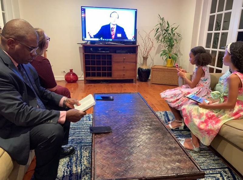 Jehovah's Witnesses Hold Virtual Convention 2