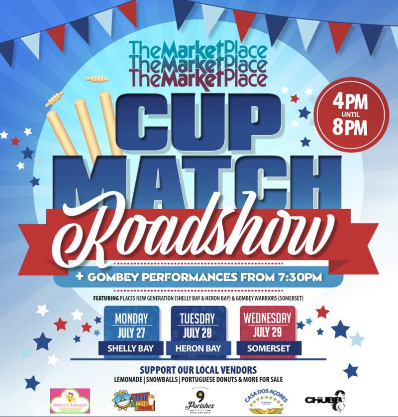 MarketPlace Cup Match Roadshow Bermuda July 2020
