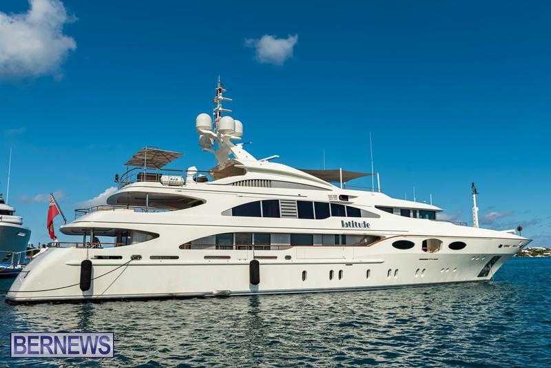 Mega yachts super yachts in Bermuda July 2020 boats (1)