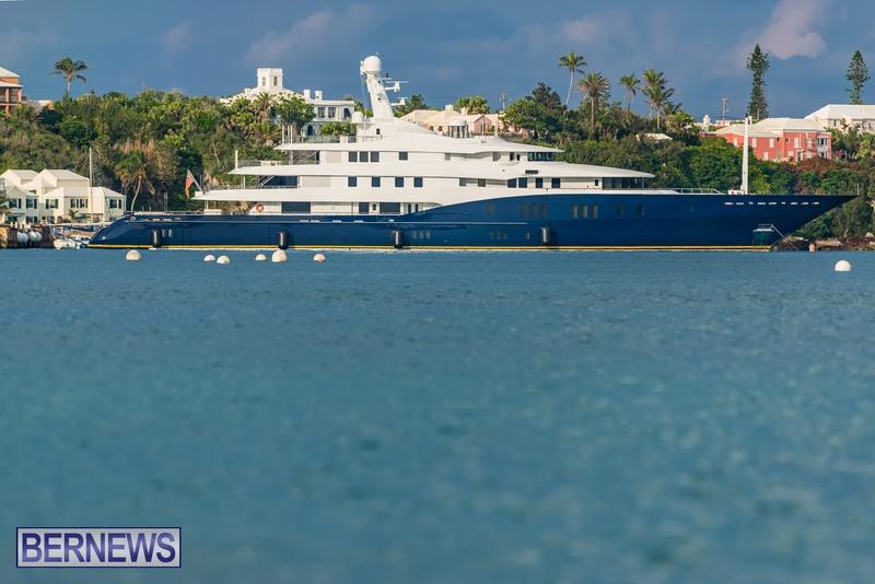 Mega yachts super yachts in Bermuda July 2020 boats (10)