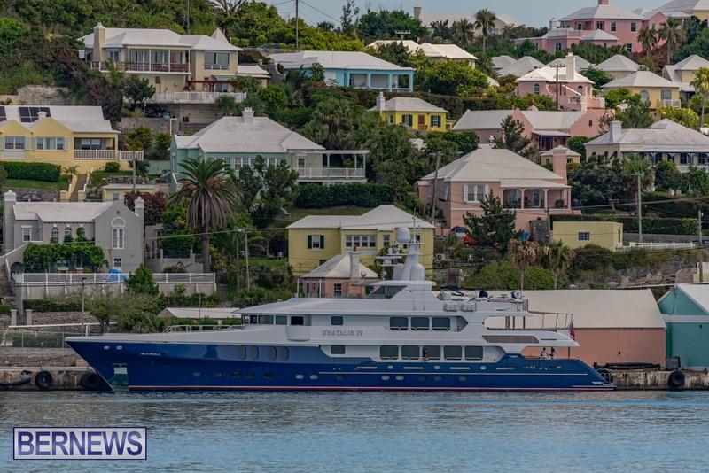 Mega yachts super yachts in Bermuda July 2020 boats (11)
