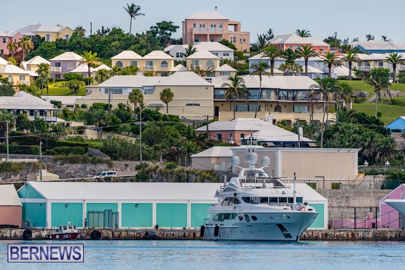 Mega yachts super yachts in Bermuda July 2020 boats (12)