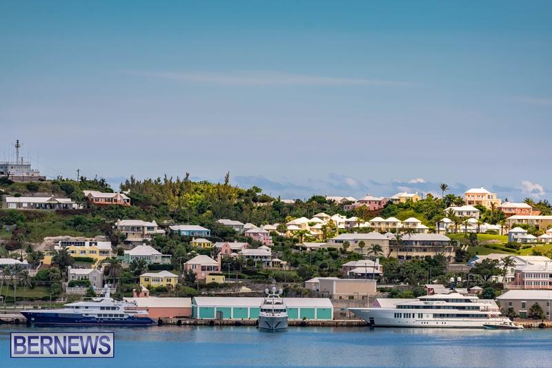 Mega yachts super yachts in Bermuda July 2020 boats (13)