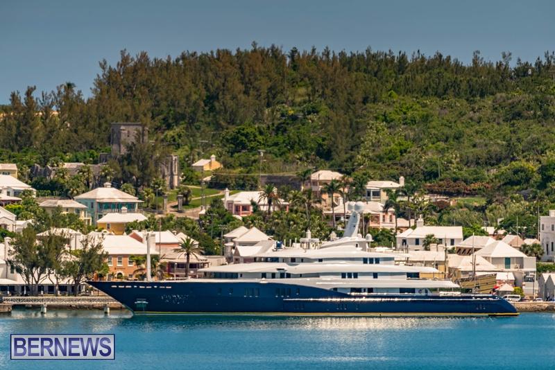 Mega yachts super yachts in Bermuda July 2020 boats (14)