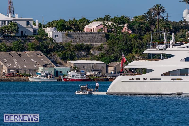 Mega yachts super yachts in Bermuda July 2020 boats (15)