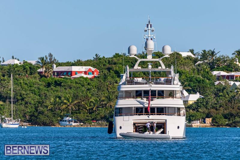 Mega yachts super yachts in Bermuda July 2020 boats (17)
