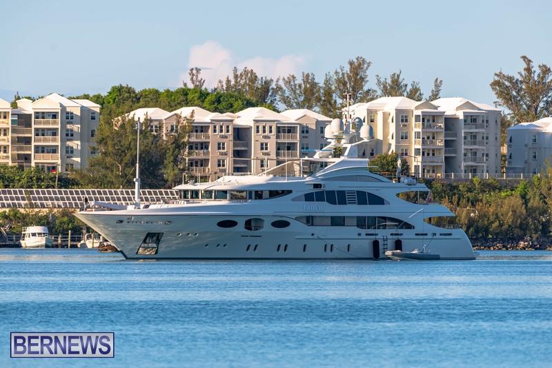 Mega yachts super yachts in Bermuda July 2020 boats (18)