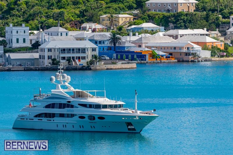 Mega yachts super yachts in Bermuda July 2020 boats (22)