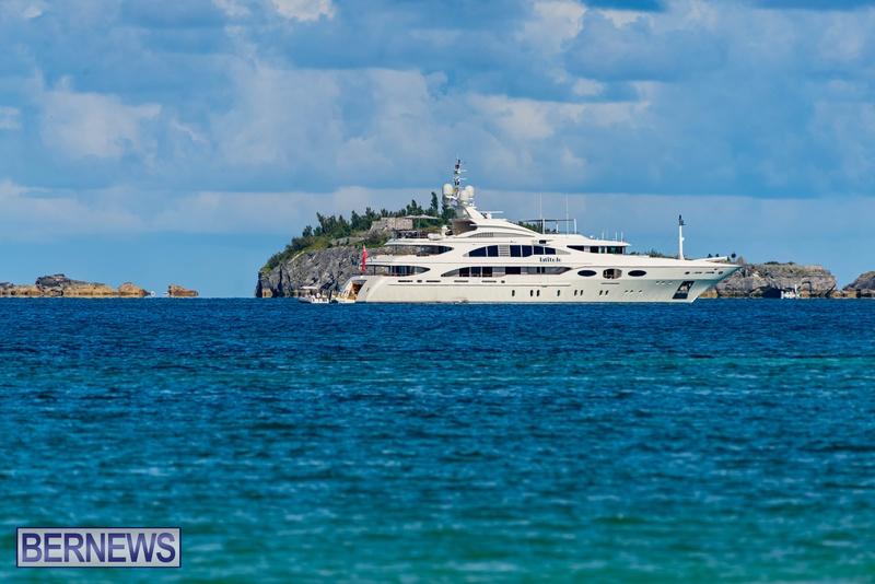 Mega yachts super yachts in Bermuda July 2020 boats (23)