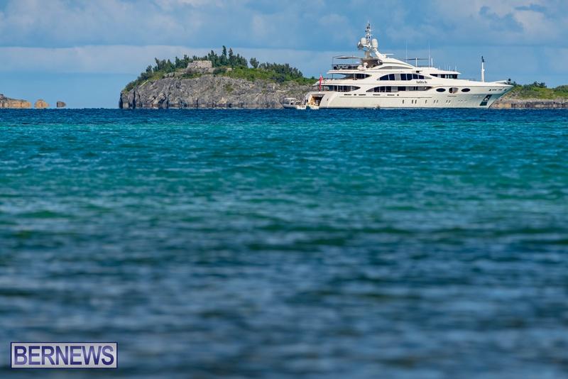 Mega yachts super yachts in Bermuda July 2020 boats (24)