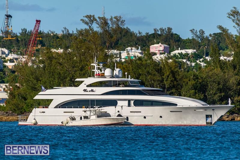 Mega yachts super yachts in Bermuda July 2020 boats (25)