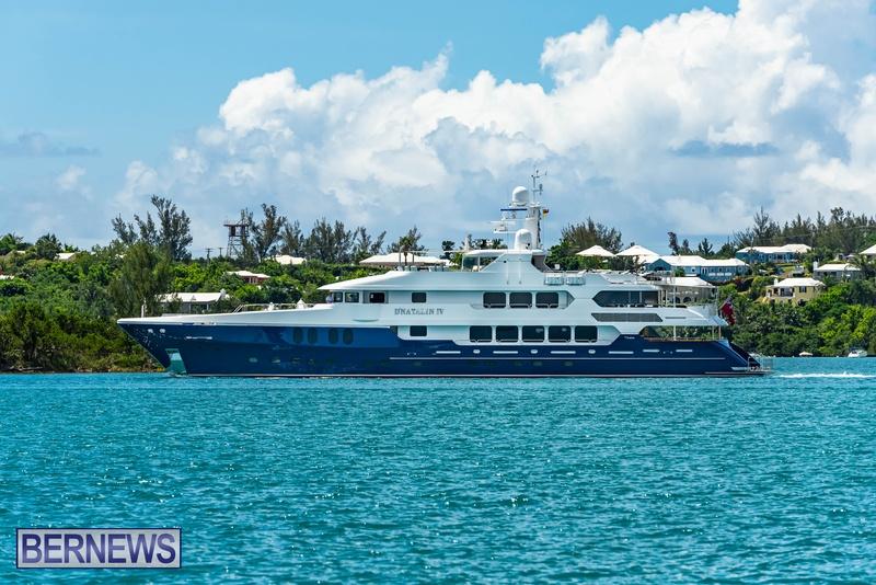 Mega yachts super yachts in Bermuda July 2020 boats (26)