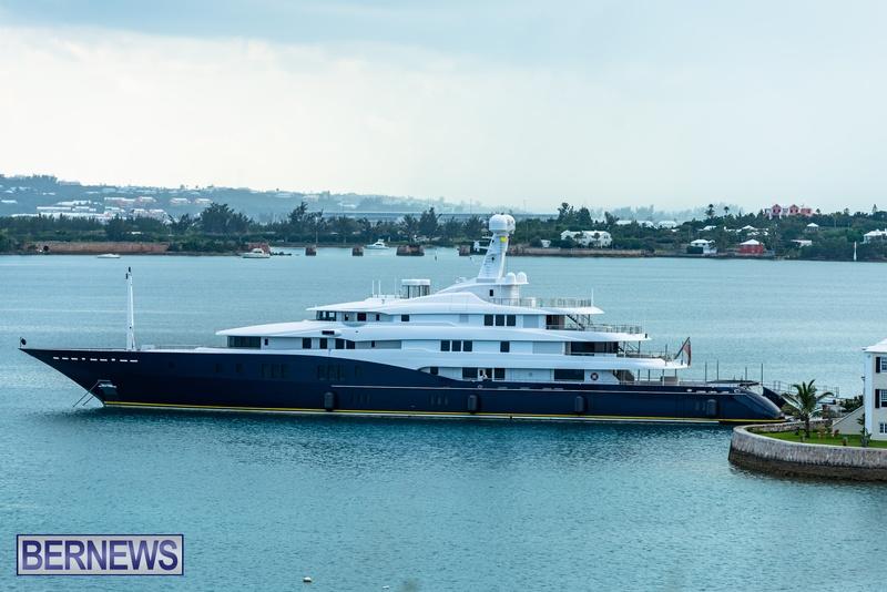 Mega yachts super yachts in Bermuda July 2020 boats (3)