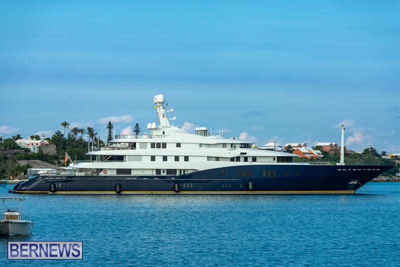 Mega yachts super yachts in Bermuda July 2020 boats (4)