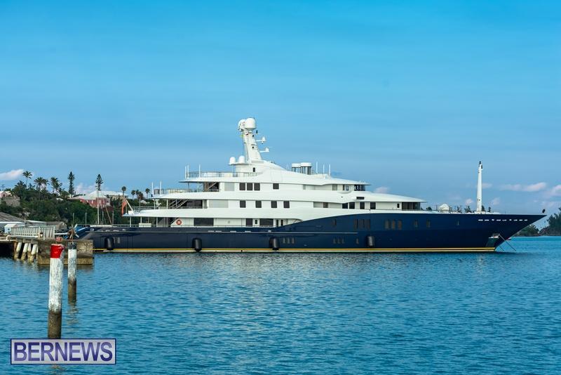 Mega yachts super yachts in Bermuda July 2020 boats (5)