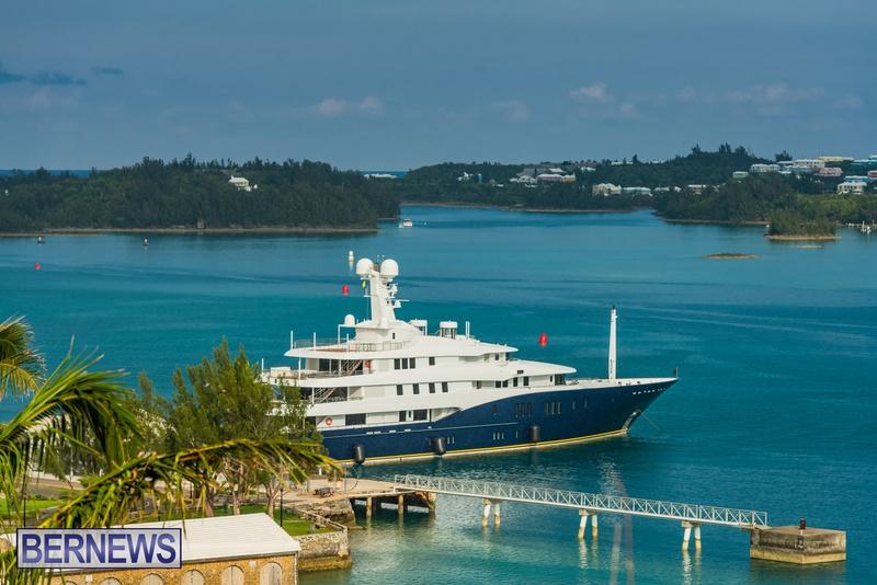 Mega yachts super yachts in Bermuda July 2020 boats (6)