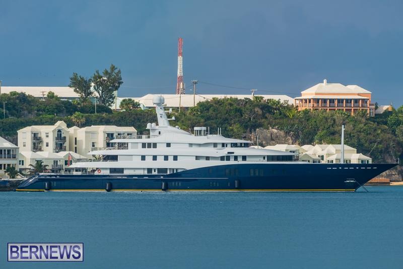Mega yachts super yachts in Bermuda July 2020 boats (7)