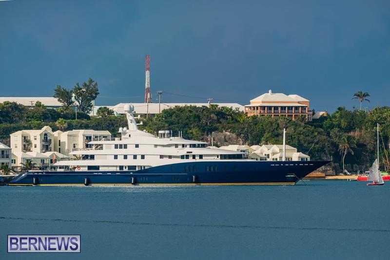Mega yachts super yachts in Bermuda July 2020 boats (8)