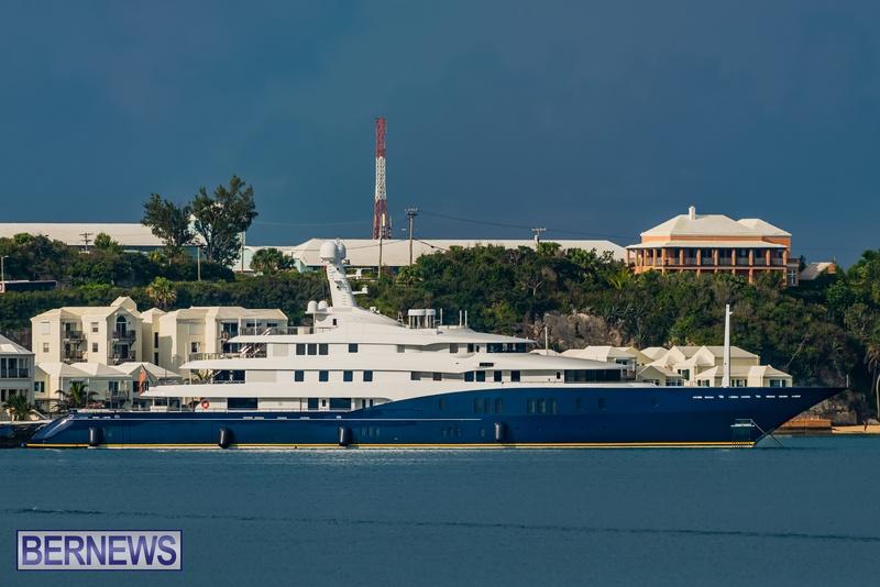 Mega yachts super yachts in Bermuda July 2020 boats (9)